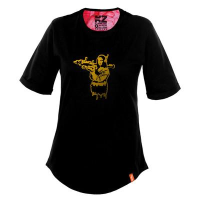 تصویر تی شرت زنانه کارزان کد KZ-TS-WB-13