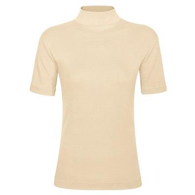 تصویر تی شرت زنانه ساروک مدل TZY5cm05 رنگ کرم