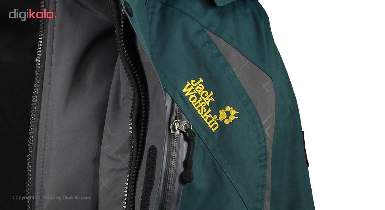 کاپشن کوهنوردی مردانه جک ولف اسکین مدل OUTDOOR