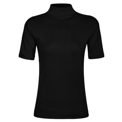 تی شرت زنانه ساروک مدل TZY5cm18 رنگ مشکی