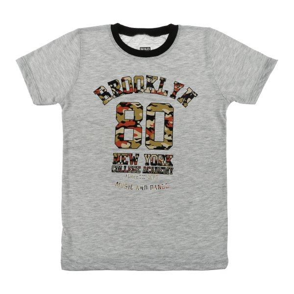 تی شرت پسرانه ناوالس مدل Brooklyn-GY