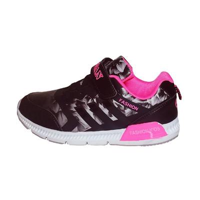 تصویر کفش مخصوص پیاده روی دخترانه مدل فلاور کد S52