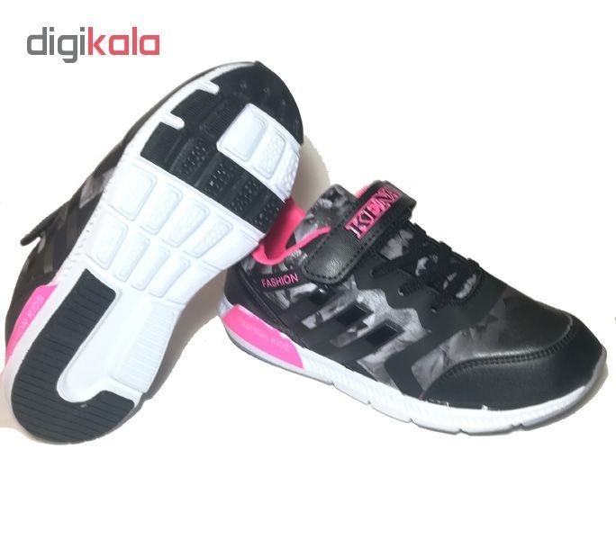 کفش مخصوص پیاده روی دخترانه مدل فلاور کد S52
