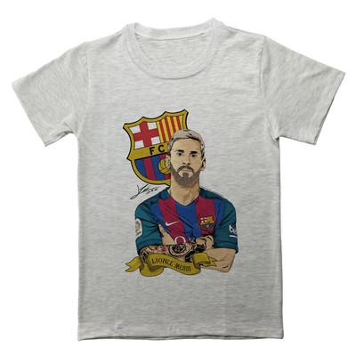 تصویر تی شرت مردانه طرح لیونل مسی کد EML571