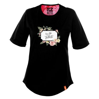 تی شرت زنانه کارزان کد KZ-TS-WB-78