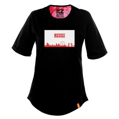تصویر تی شرت زنانه کارزان کد KZ-TS-WB-79