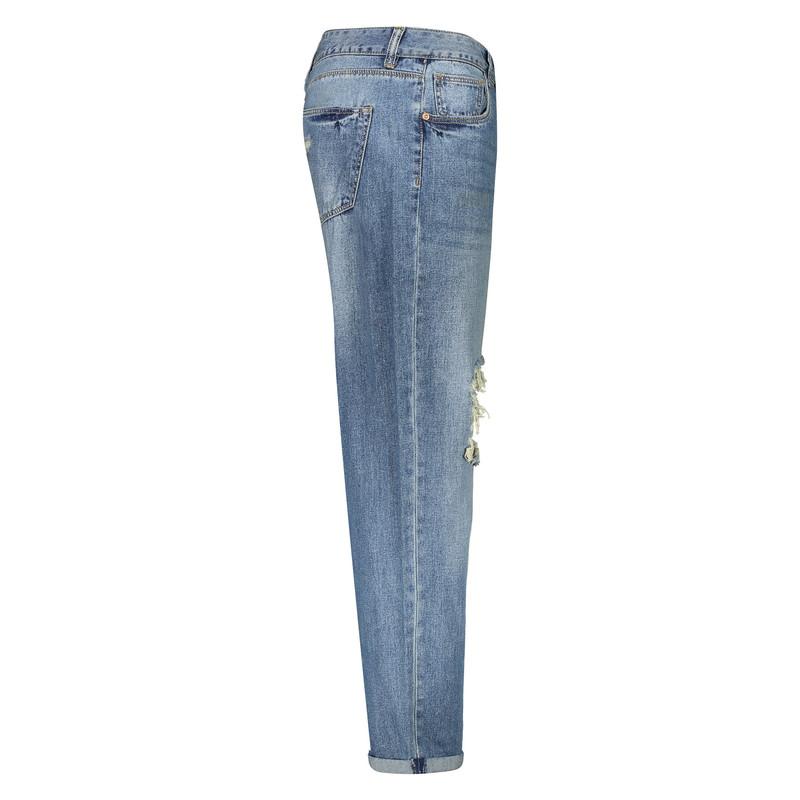 شلوار جین زنانه او وی اس مدل 008786536-BLUE