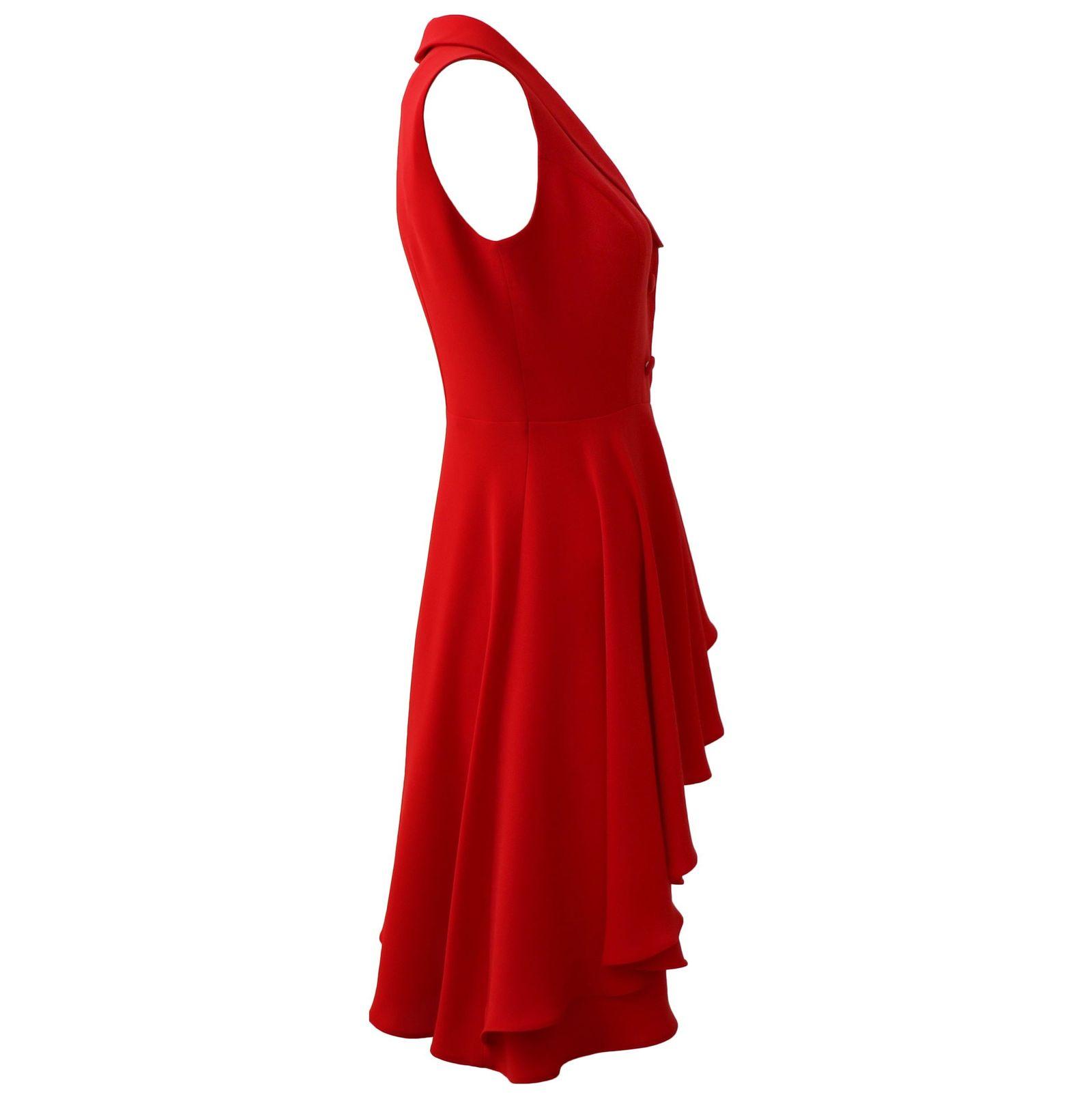 پیراهن زنانه درس ایگو کد 1010018 رنگ قرمز -  - 4
