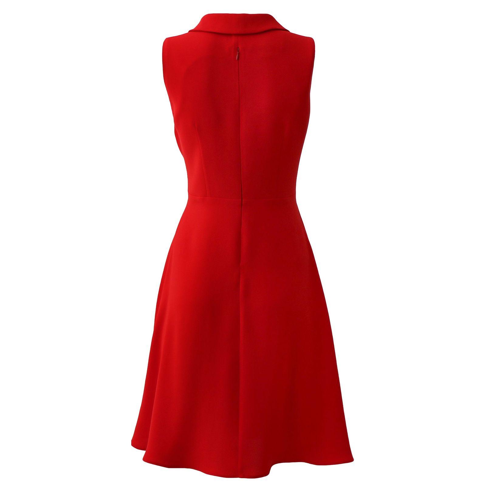 پیراهن زنانه درس ایگو کد 1010018 رنگ قرمز -  - 5
