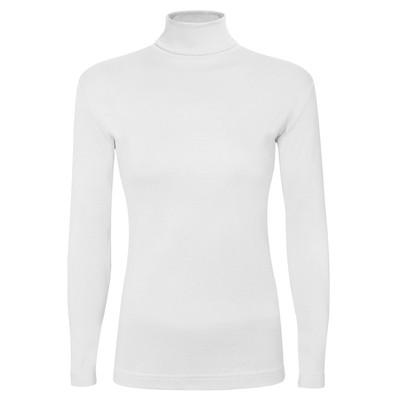 تصویر تی شرت آستین بلند زنانه ساروک مدل BZYeski01 رنگ سفید