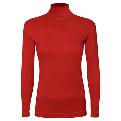 تی شرت آستین بلند زنانه ساروک مدل BZYeski06 رنگ قرمز