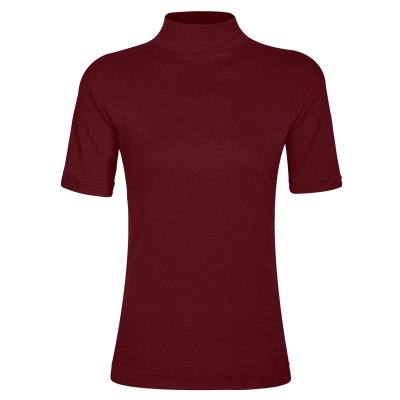 تصویر تی شرت زنانه ساروک مدل TZY5cm14 رنگ زرشکی