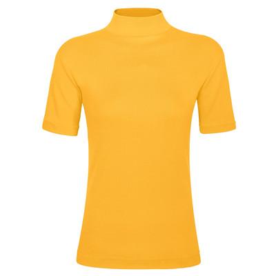 تی شرت زنانه ساروک مدل TZY5cm20 رنگ زرد