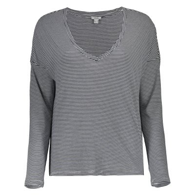 تی شرت زنانه او وی اس مدل 009364525-WHITE/BLUE