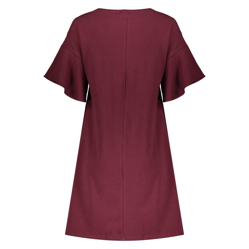 پیراهن زنانه او وی اس مدل 004536500-VIOLET