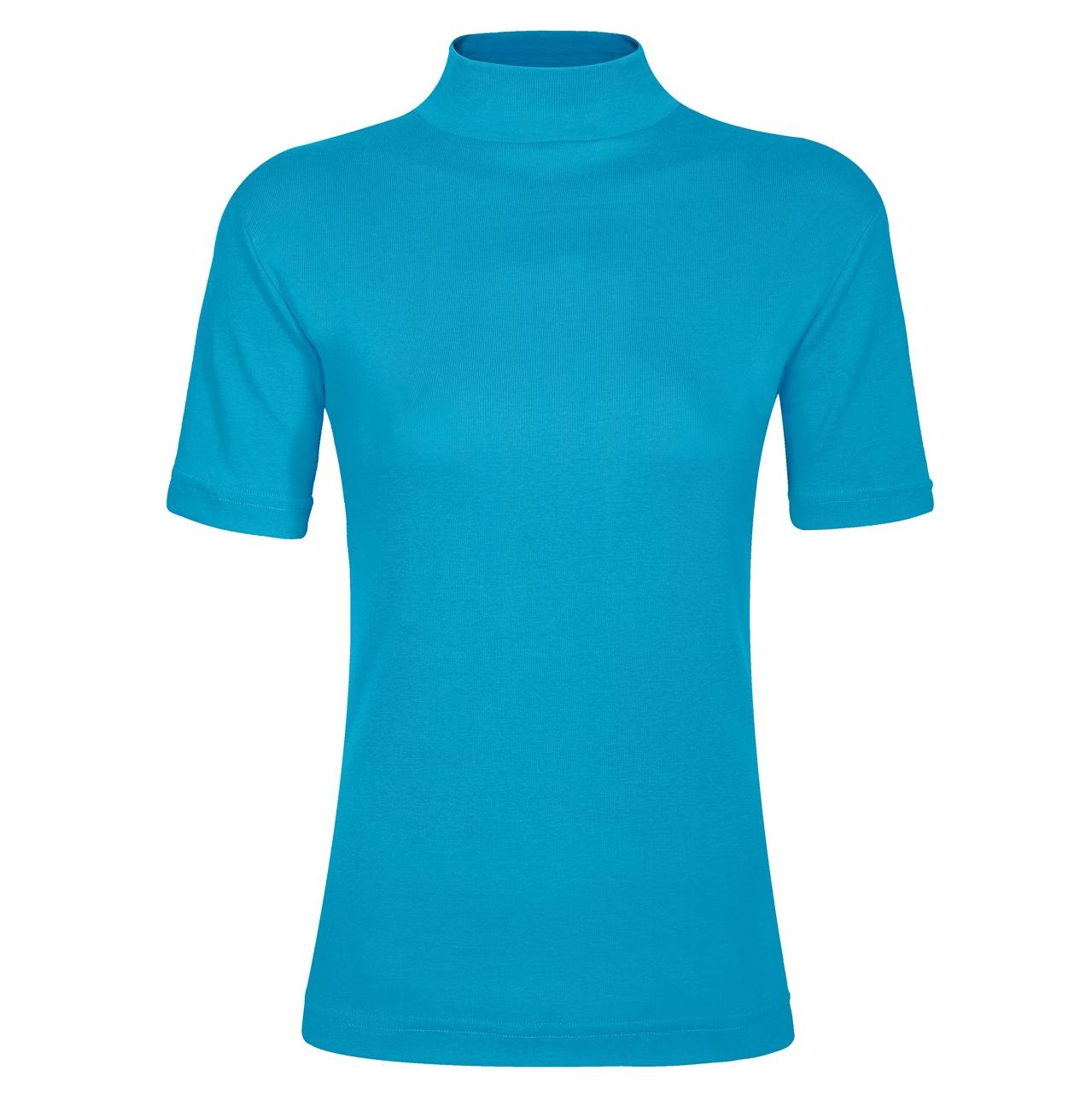 تی شرت زنانه ساروک مدل TZY5cm13 رنگ آبی فیروزه ای
