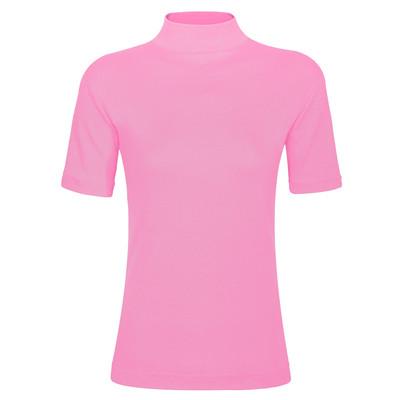 تی شرت زنانه ساروک مدل TZY5cm19 رنگ صورتی