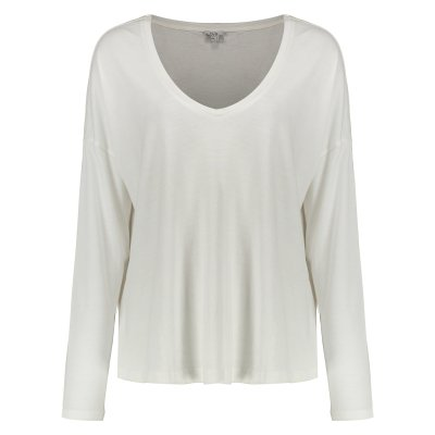 تی شرت زنانه او وی اس مدل 009364515-WHITE