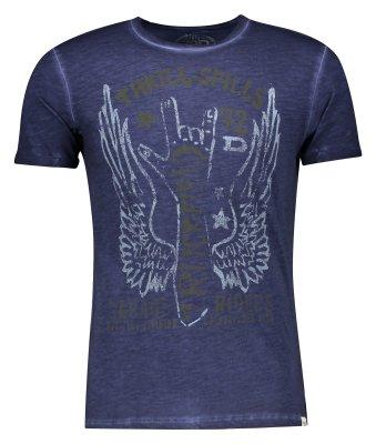 تصویر تی شرت مردانه او وی اس مدل 006483586-BLUE