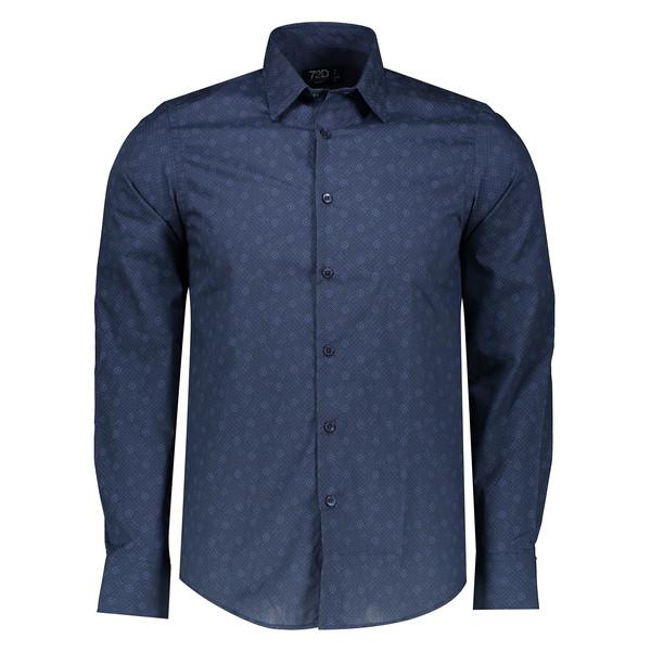 پیراهن مردانه او وی اس مدل 002097311-BLUE