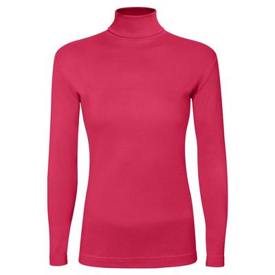 تی شرت آستین بلند زنانه ساروک مدل BZYeski05 رنگ سرخابی