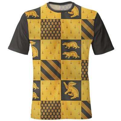 Photo of خرید تی شرت مردانه زرد سیاه طرح هافلپاف مدل 2020