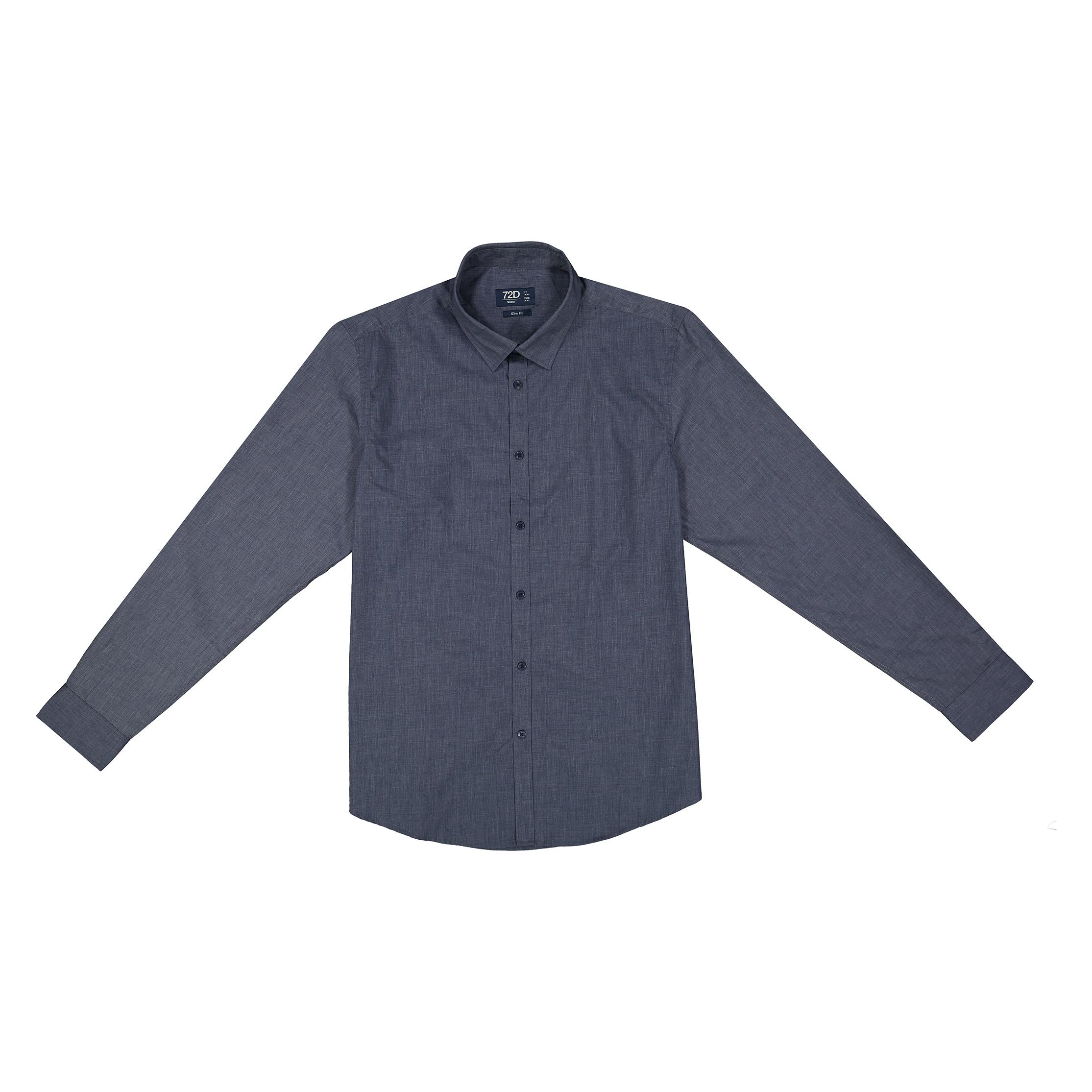 پیراهن مردانه او وی اس مدل 002097301-BLUE
