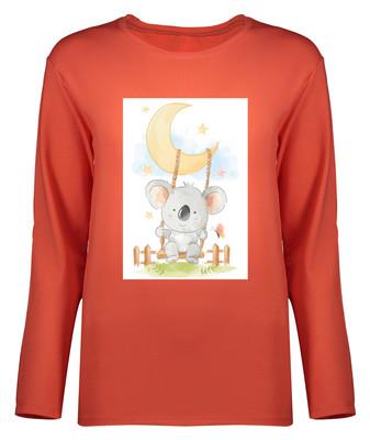 Photo of تی شرت آستین بلند زنانه طرح کوالا کد 8891