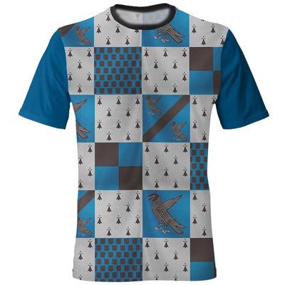 تی شرت مردانه طرح ریونکلا