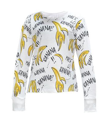 تی شرت زنانه طرح Banana