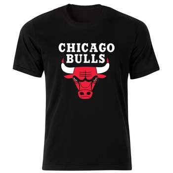 تی شرت مردانه طرح شیکاگو بولز کد 34371