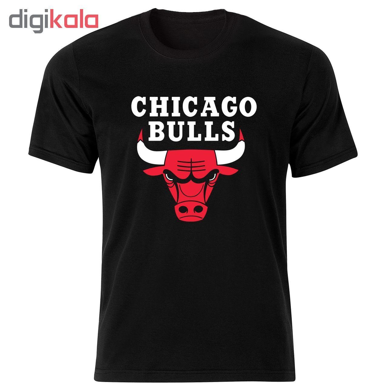 تی شرت مردانه طرح شیکاگو بولز کد 34371 main 1 1