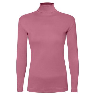تی شرت آستین بلند زنانه ساروک مدل BZYeski07 رنگ صورتی