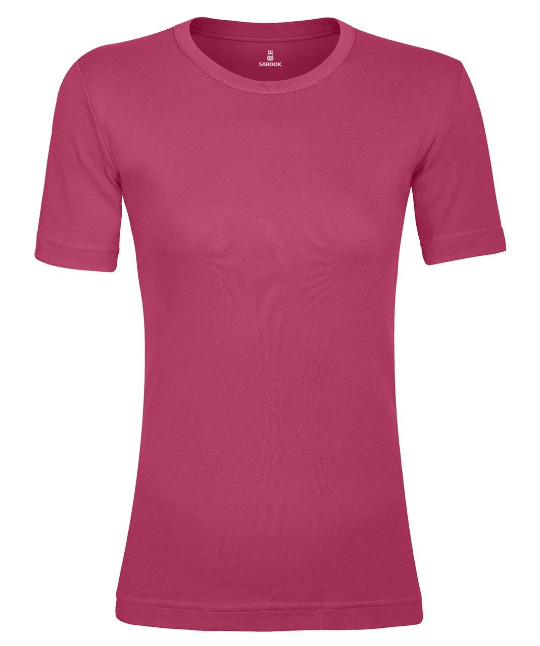 تصویر تی شرت زنانه ساروک مدل TZYUF09 رنگ صورتی