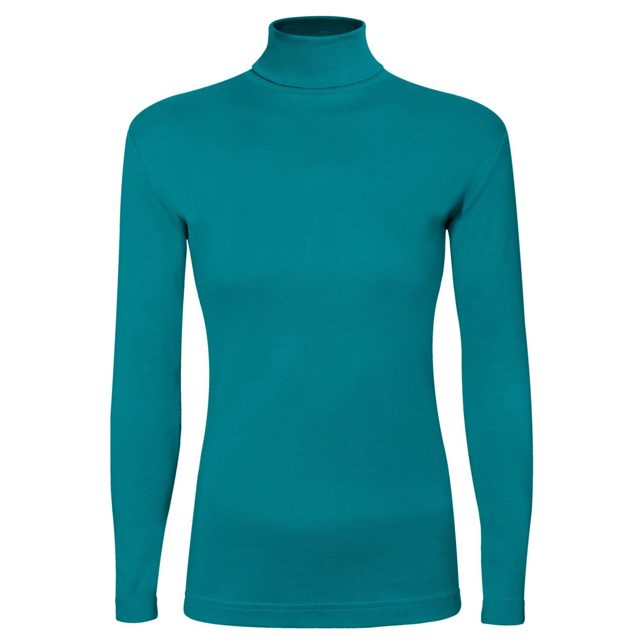 تصویر تی شرت آستین بلند زنانه ساروک مدل BZYeski03 رنگ سبز