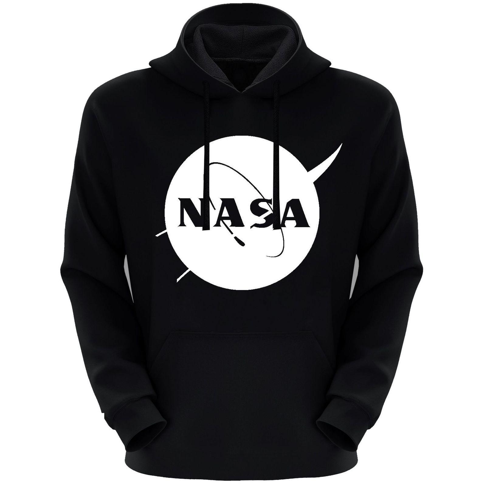هودی مردانه طرح ناسا کد S70 رنگ مشکی main 1 1