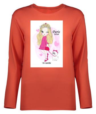 Photo of تی شرت آستین بلند زنانه کد 9044