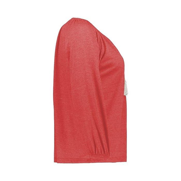 بلوز زنانه افراتین کد  3-7507 رنگ قرمز