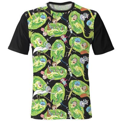 Photo of تی شرت مردانه طرح ریک و مورتی
