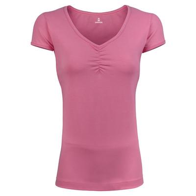 تی شرت زنانه ساروک مدل TZSCHNK01 رنگ صورتی