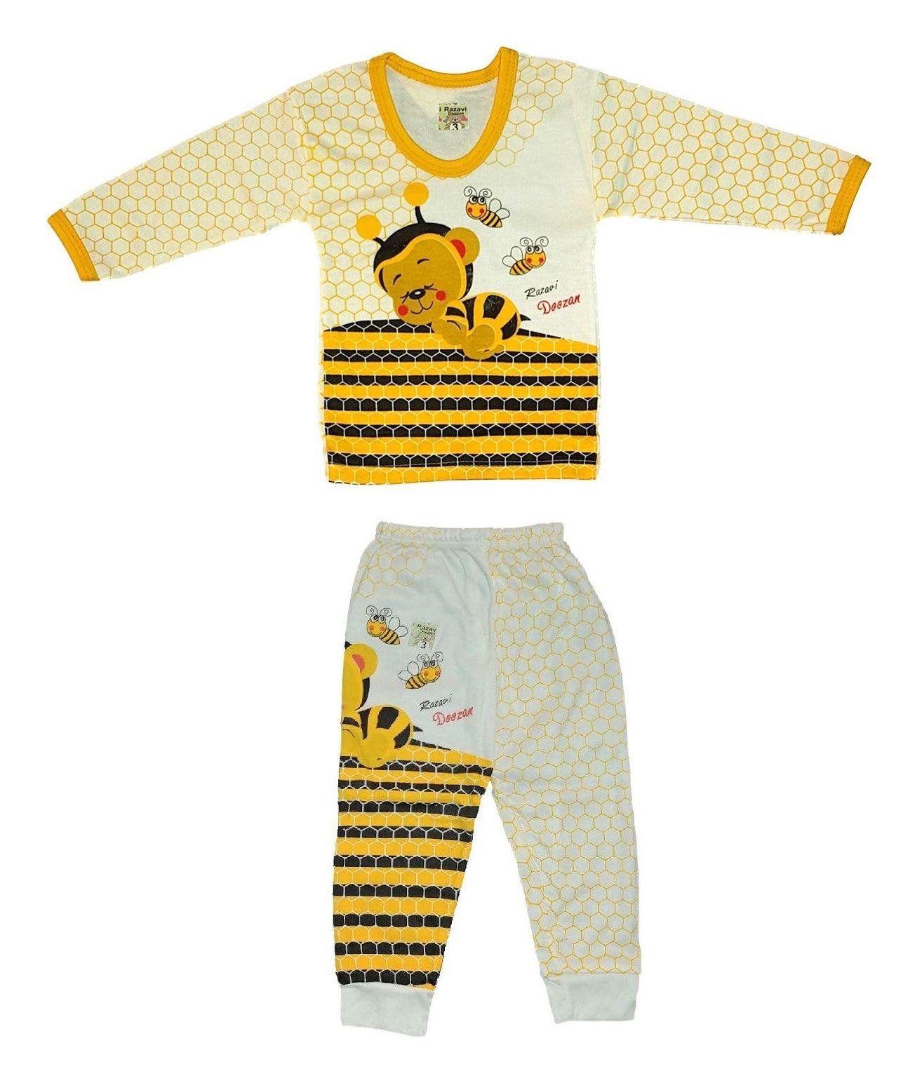 ست تی شرت و شلوار نوزادی کد 280ZA