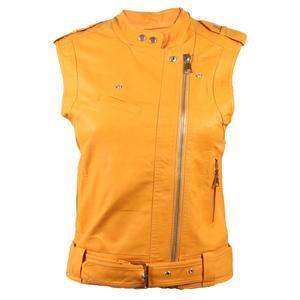 جلیقه زنانه کد brfp-012 رنگ زرد