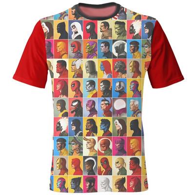 Photo of تی شرت مردانه طرح مارول