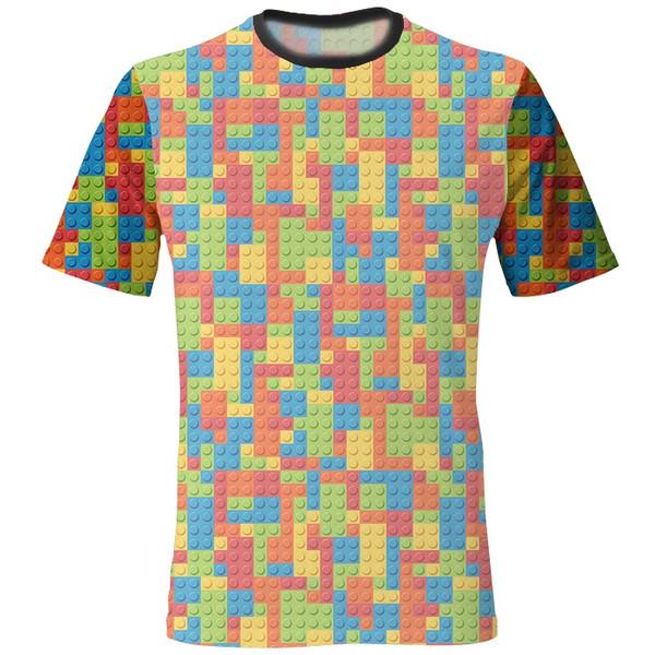 تی شرت مردانه طرح لگو