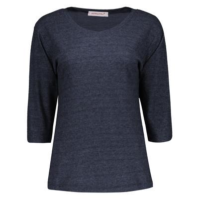 تی شرت زنانه افراتین کد 7510 رنگ سرمه ای