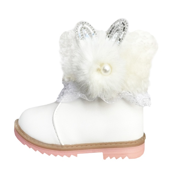 نیم بوت دخترانه طرح خرگوش مدل AF14
