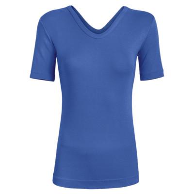 تی شرت زنانه ساروک مدل TZYVFPB08 رنگ آبی