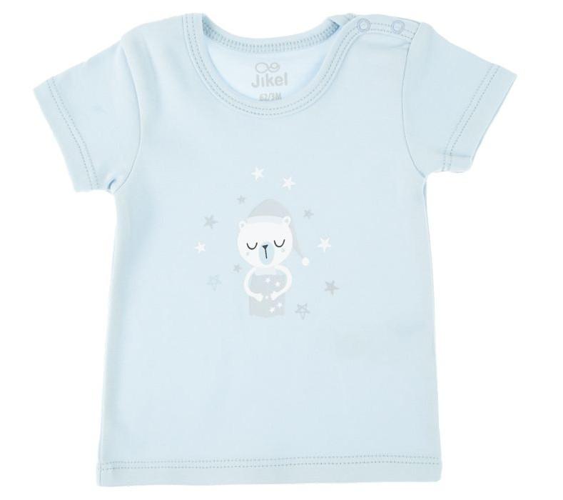 تی شرت نوزادی جیکل مدل JK902208-83 مجموعه 2 عددی