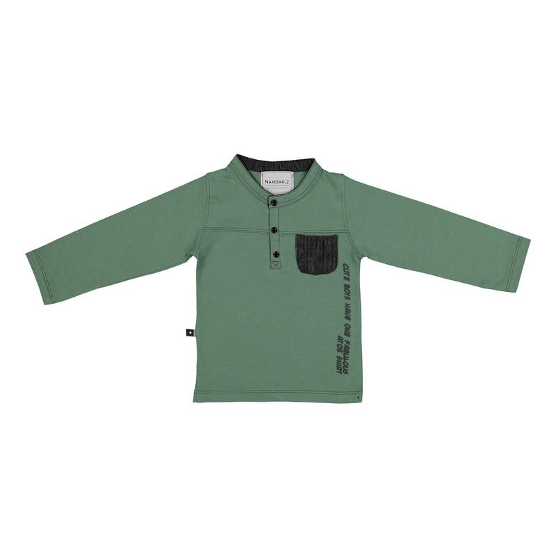 ست تی شرت و شلوار پسرانه نامدارز مدل 2021103-49