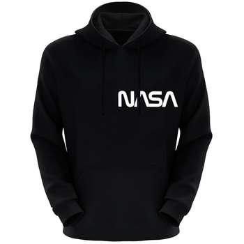 هودی مردانه طرح ناسا کد F83 رنگ مشکی
